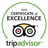 Rotonda Restaurant TripAdvisor Certificate of Excellence 2016