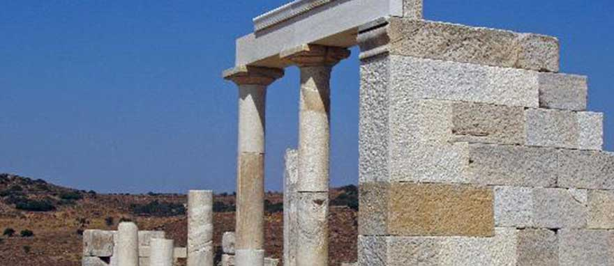 Best Places to visit in Naxos Temple of Demeter