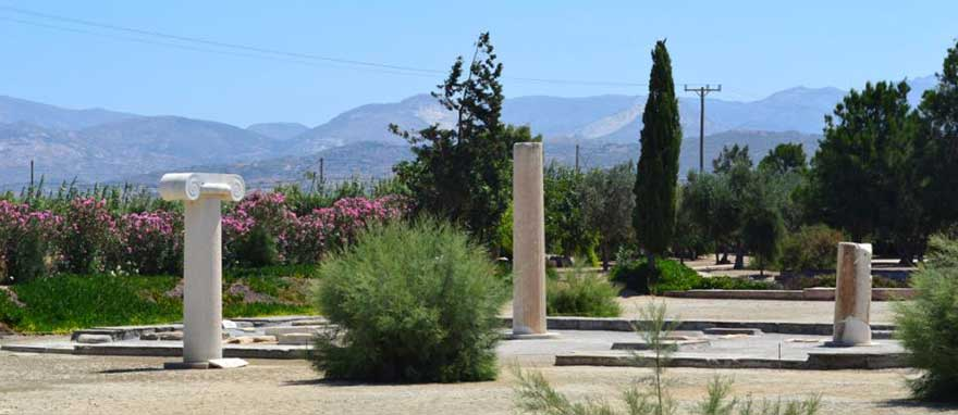 Best Places to visit in Naxos Temple of Dionysus