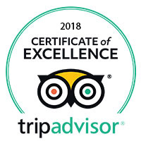 Rotonda Restaurant TripAdvisor Certificate of Excellence 2018